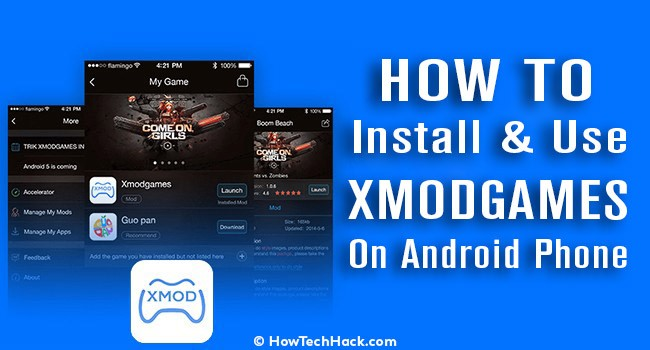 how to install xmodgames on android