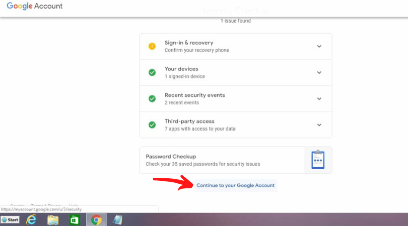 how to change gmail password on laptop