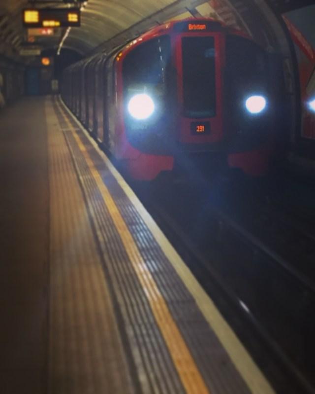 pimlico tube victoria line london underground