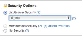 List Grower Security in Digioh