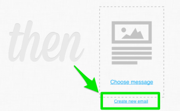 Create a new message for the GetResponse autoresponder