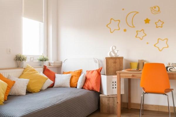 culori potrivite pentru camera copilului