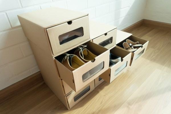 cum poti folosi cutiile vechi de la pantofi