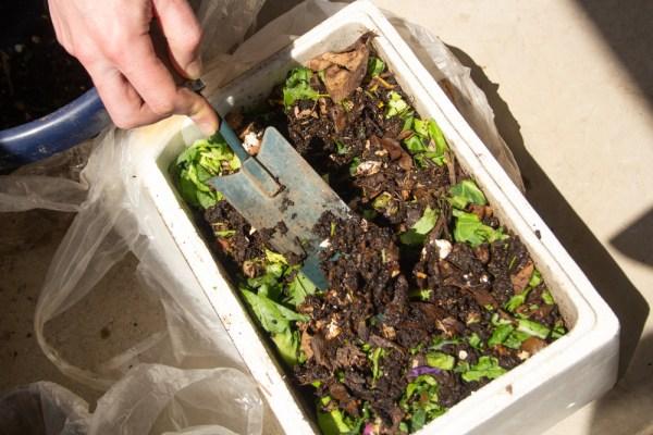 compostare in spatii mici