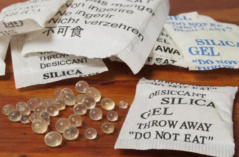 de ce nu este bine sa arunci pliculetele de silicat gel