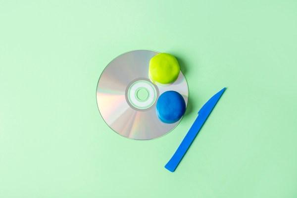 reciclare creativa cd-uri vechi