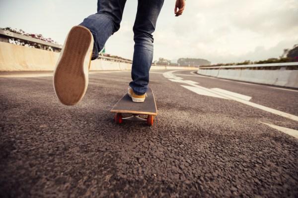 placa de skateboard potrivita pentru un incepator