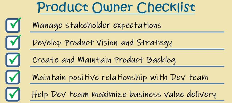 Product Owner: Self-assessment Checklist – How to Agile