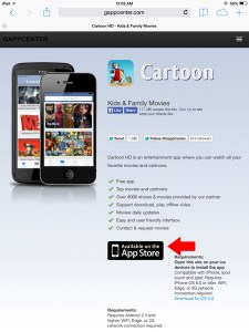 Install Cartoon HD to iOS Device (iPhone, iPad, iPod Touch)