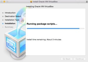 Install Oracle VM VirtualBox