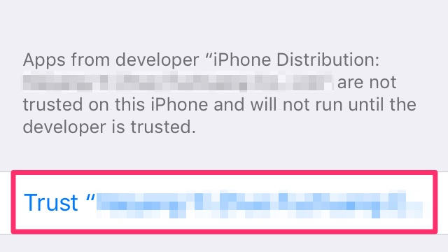 "How-to Trust ""Untrusted Developer"" or ""Untrusted Enterprise"