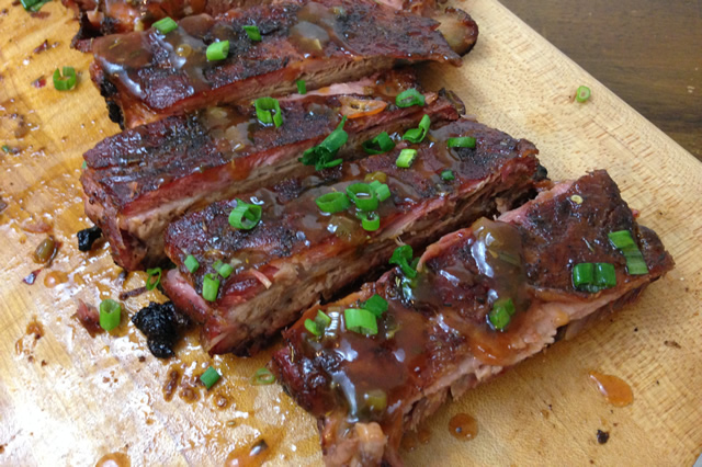 Jerk Style Spare Ribs