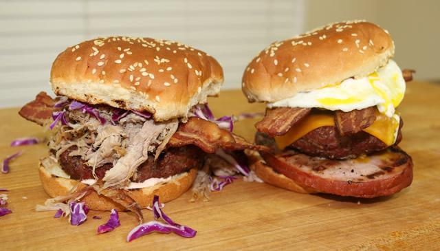 grilled hamburger recipe for super bowl