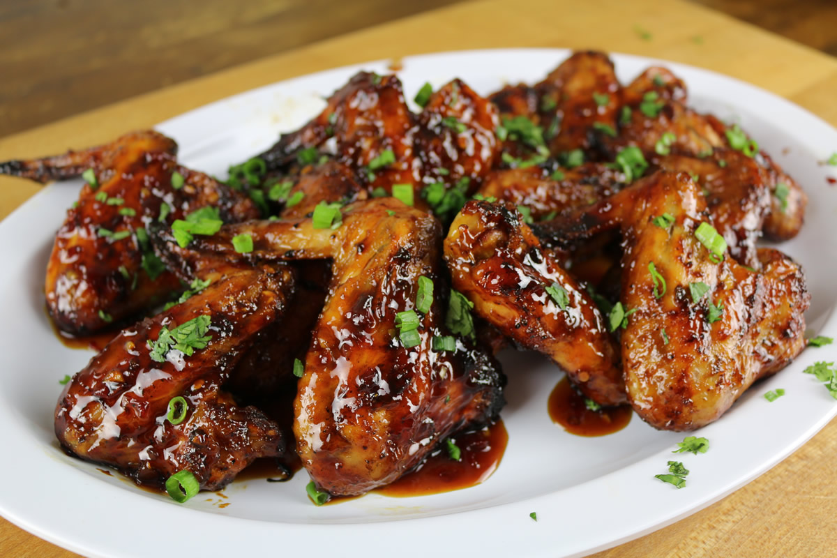 Spicy Thai Grilled Wings