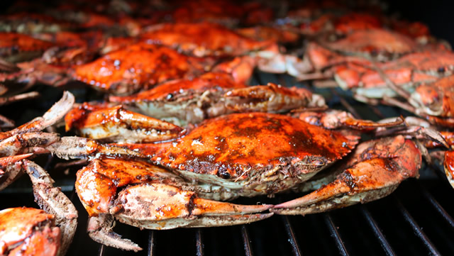 Smoked Blue Crab