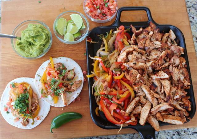 Grilled Chicken Fajitas Chicken Fajita Recipe On The Grill