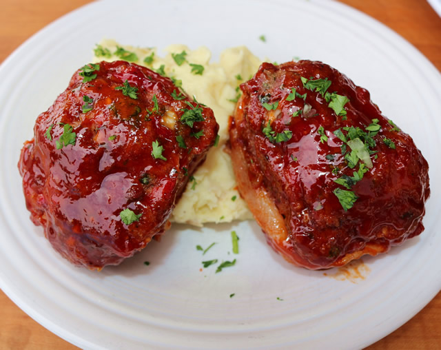 Smoked Meatloaf Minis