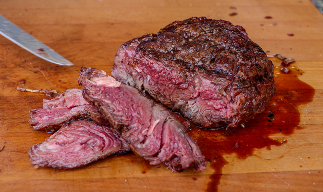 spinalis steaks ribeye cap steak recipe on the grill