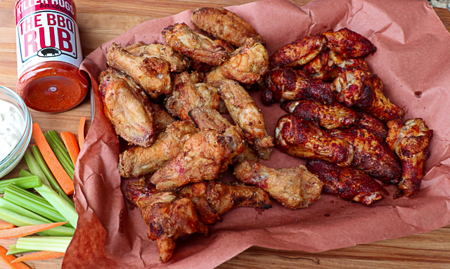 Crispy Grilled Wings