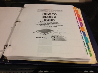 6 Tips for Creating a Blogged Book Manuscript