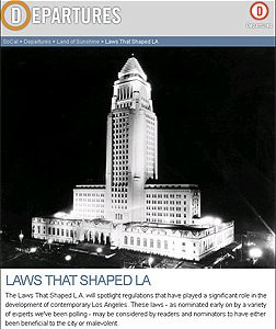 Laws that Shaped LA