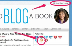 RSS feed and email subscription  is necessary for a blog