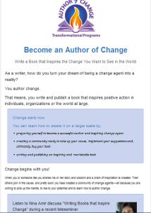Author of Change