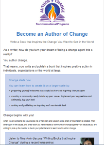 Author of Change