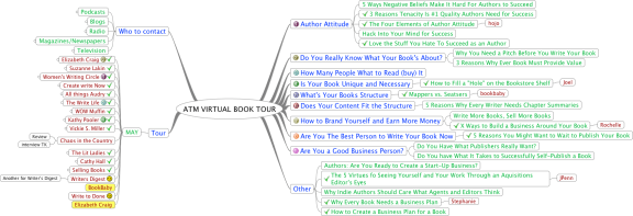 The Author Training Manual virtual book tour