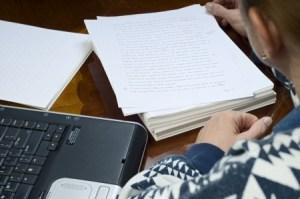 draft manuscript