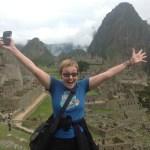 Denise Wakeman at Machu Picchu