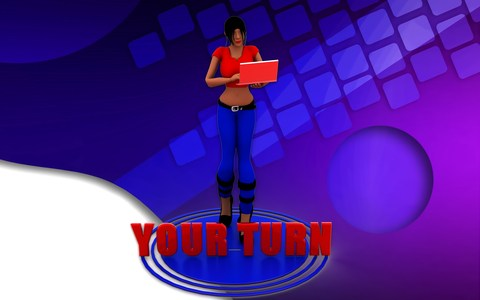 Blog a Book Because It's Your Turn