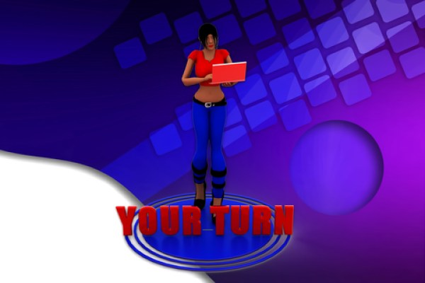 take your turn by blogging a book