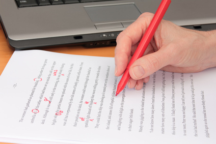 check the grammar on your blog posts