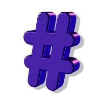 hashtags help market books