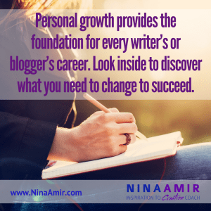 Success for writers and bloggers relies on personal development