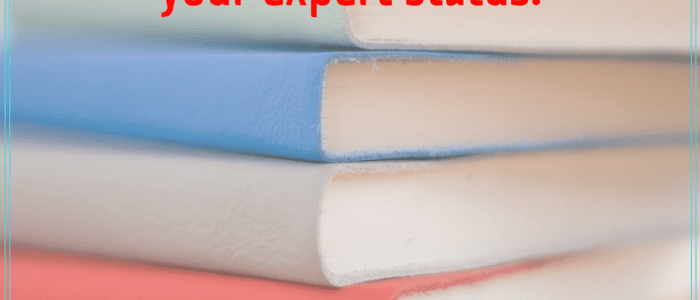How to Blog a Short Book that Builds Expert Status