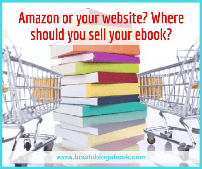 selling your ebook