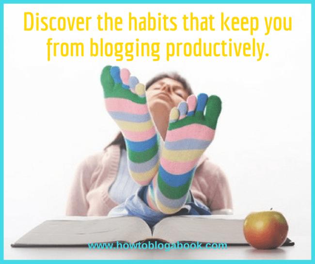 unproductive blogger