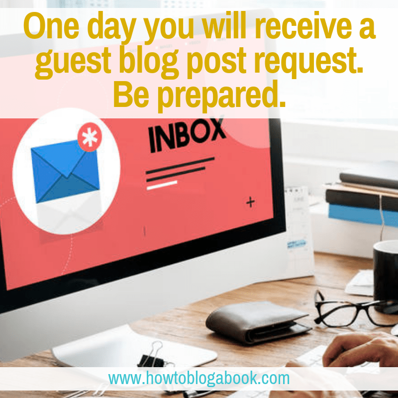 how to respond to guest blog post requests