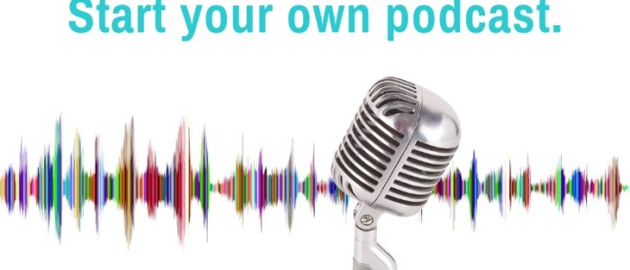 learn how to share your blog and book content with a free podcast