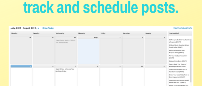 How to Use an Editorial Calendar to Plan Your Blog Posts