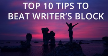 Top 10 Tips to Beat Writer's Block Image