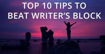 Top 10 Tips to Beat Writer's Block Image