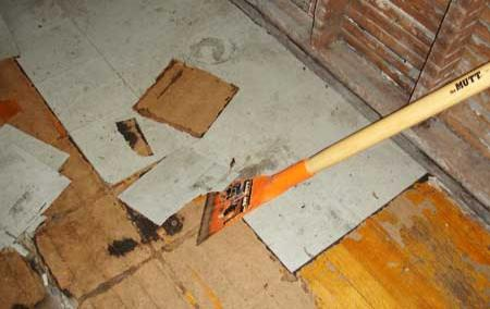 How To Replace Linoleum Flooring With Ceramic Tile How