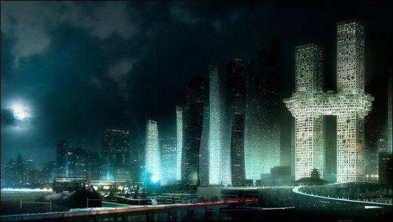 The Bizarre Resemblance Of South Korean Building Design