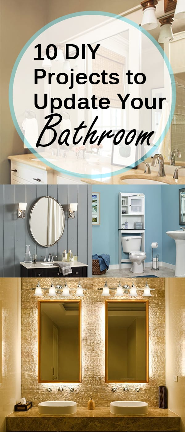 10 DIY Projects To Update Your Bathroom Page 9 Of 11