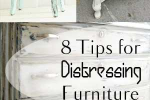 8 Tips For Distressing Furniture How To Build I