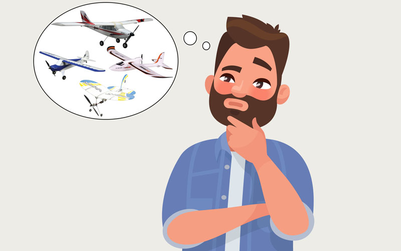 How To Choose The Right RC Electric Model Airplane For You - How To
