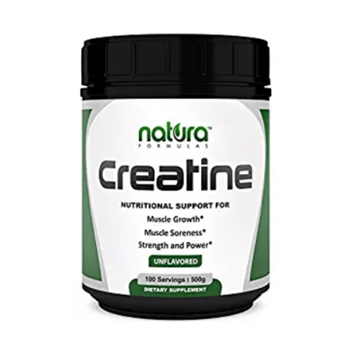 Micronized Creatine Monohydrate Powder by Natura Formulas